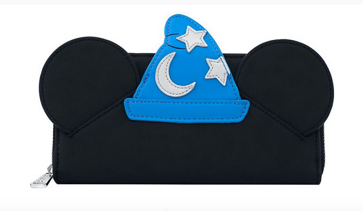 Loungefly Disney Mickey Mouse Fantasia Sorceror Wallet Purse