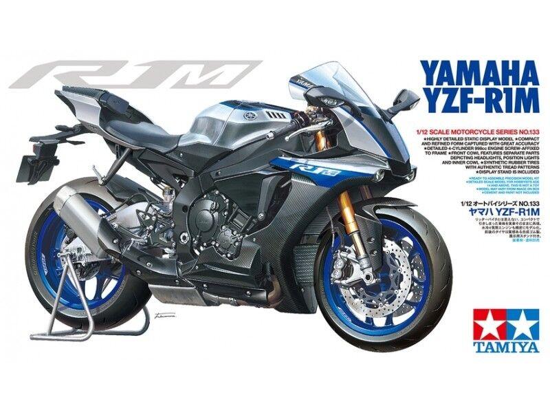 Tamiya 1 12 Yamaha Yzf-R1M Modellino in kit di Montaggio