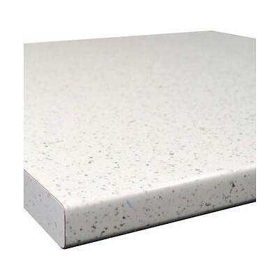 White Sparkle Gloss 30mm Laminate Kitchen Worktop - Fast & Free Delivery