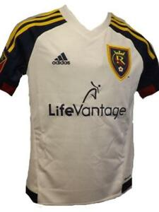 c9c54a882a937 RSL Real Salt Lake Youth Size S-M-L-XL (8-10 12-14 16-18 20) White ...