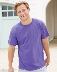 d5c6d0f5 Image is loading Hanes-ComfortSoft-Heavyweight-Cotton-T-Shirt-5280-21colors