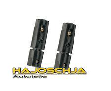 2 x Sicherungshalter Sicherung Kfz incl. 2 A Glassicherung  Ampere