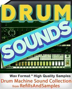 drum machine beatbox samples collection 6700 sounds library vintage 1970 1980 cd ebay. Black Bedroom Furniture Sets. Home Design Ideas