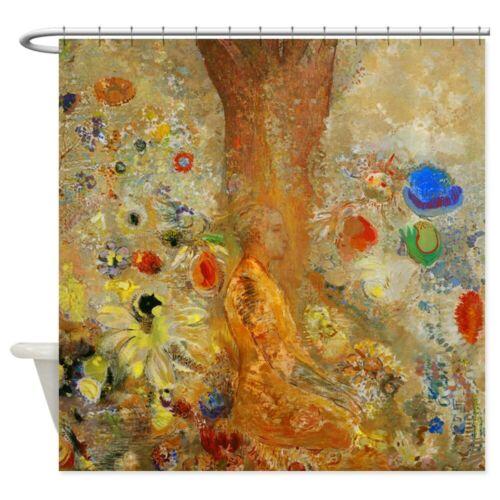 CafePress Odilon Redon Buddha In His Youth Shower Curtain 764941504