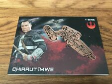 2016 Star Wars Rogue One Series 1 Chirrut Imwe Bronze Medallion