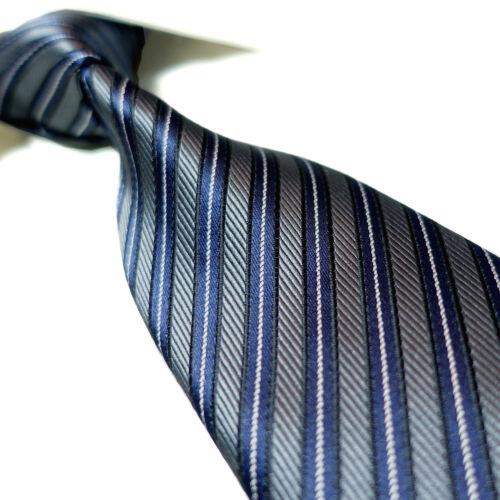 "12 Colors Extra Long Necktie 63"" Striped Microfibre Woven Polyester Mens XL Tie"