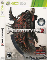 Prototype 2 Limited Radnet Edition Xbox 360 Brand Sealed With Bonus Code