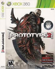 Prototype 2 Limited Radnet Edition Xbox 360 Brand New Sealed with Bonus Code