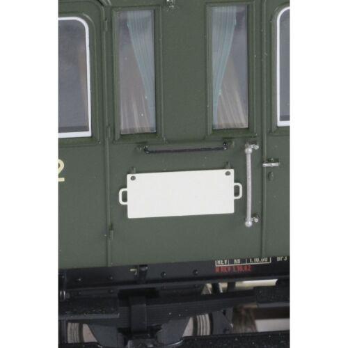 unbedruckt 10 Stück 1 St.=1,30 € Neuware Lenz Spur 0 49019 Zuglaufschilder weiß
