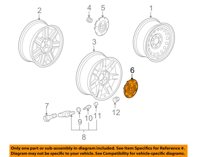 2008-2012 PORSCHE CAYENNE SINGLE FRONT LEFT OR RIGHT WHEEL BEARING FIT 2003-2006