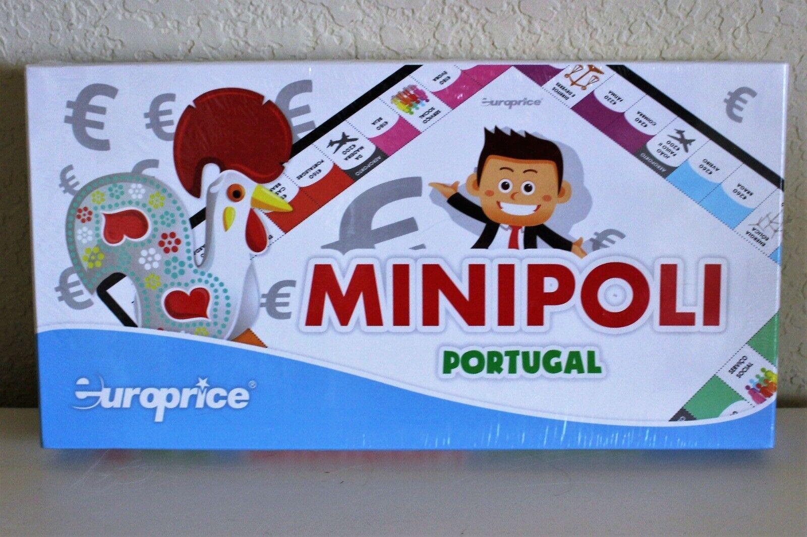 RARE  Europrice Minipoli Portugal Portuguese Monopoly NEW MIB