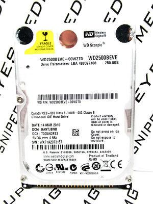 WD IDE 2.5 PCB WD2500BEVE-00WZT0 2061-701532-000 AA