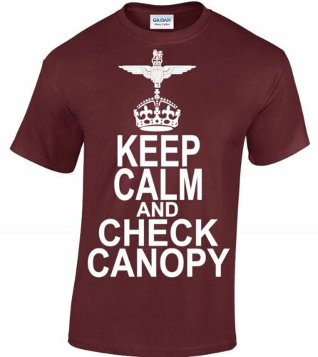 The Parachute Regiment /& Airborne Forces Keep Calm And Check Canopy