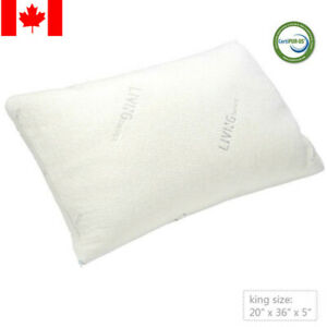 Shredded-Memory-Foam-Pillow-with-washable-removable-cooling-cover-KING-SIZE