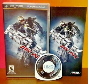 REFLEX-MX-VS-ATV-RACING-Sony-PSP-Complete-Game-Playstation-Portable