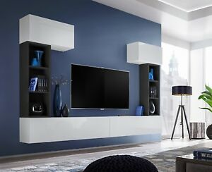 Charmant Details About Boise II   Modern Entertainment Center / Television Wall  Units / Tv Cabinets