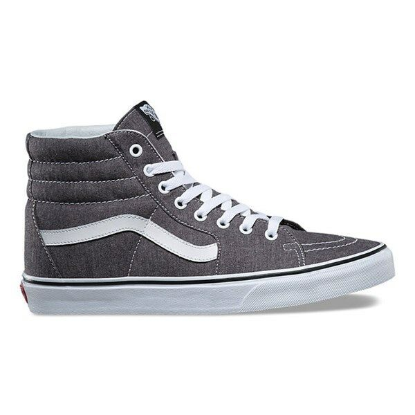73b469dd79 VANS Sk8 Hi Micro Herringbone Black true White Men s Skate Shoes Size 9 for  sale online