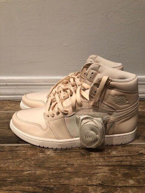 3181396a2d9532 Air Jordan 1 Retro High OG Mens 555088-801 Guava Ice Basketball Shoes Size  12 for sale online