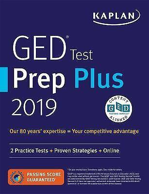 Kaplan ged test prep 2019 book