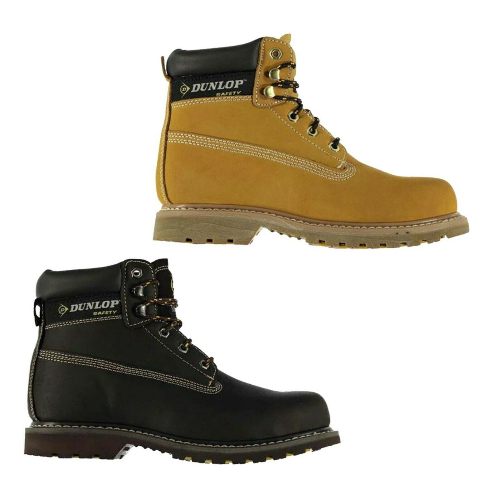 Mens Dunlop Workwear Casual Nevada Steel Toe Cap Safety Boots Sizes from 6 to 12