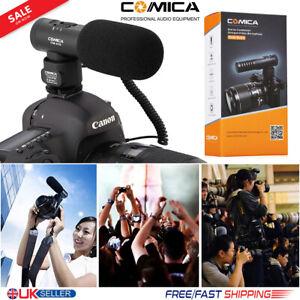 Condenser-Microphone-On-Camera-Shotgun-Mic-for-Canon-Nikon-DSLR-Cam-DV-Camcorder