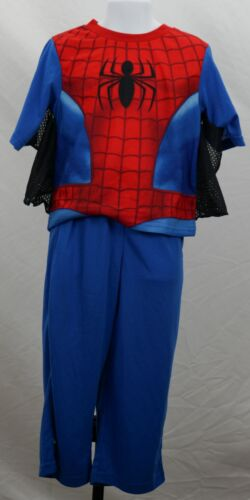 Spider-Man Infant Baby 4T Pajamas Set Long Sleeves with Webbed Arms New ST155