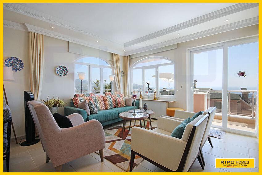Alanya Demirtas - En lækker 3-værelses lejlighe...