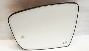 Left Passenger side wing mirror glass for Maserati Ghibli 2013-2017 heated