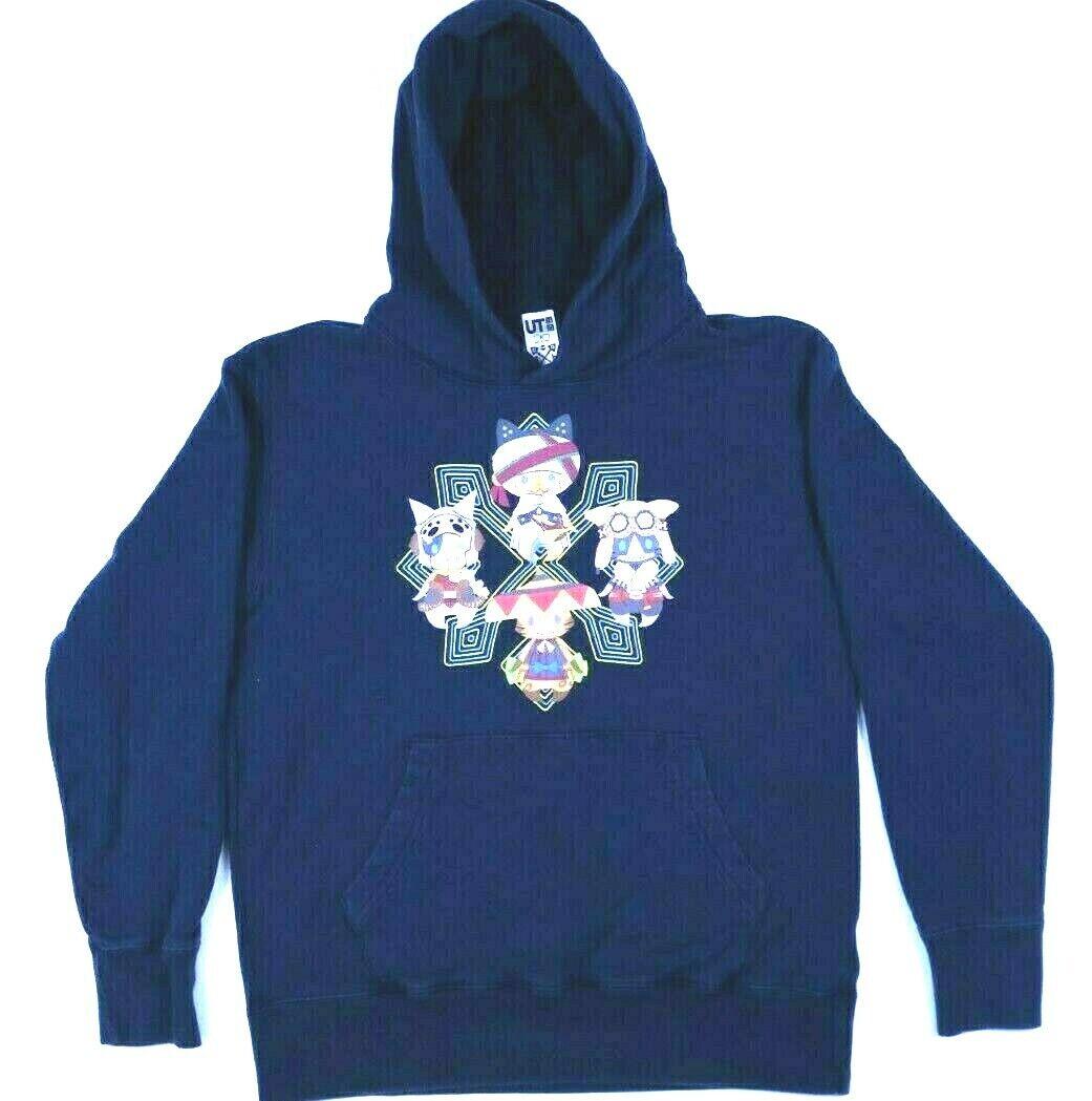 Uniqlo UT Hoodie Sweatshirt Cartoon Cats Graphic Women's Size M
