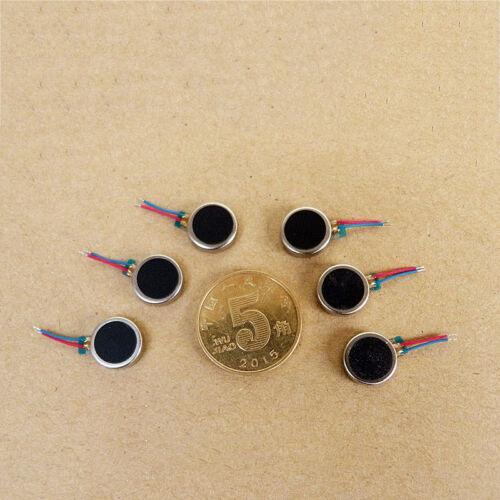 5PCS 10*3mm DC 3 V Micro Bouton Vibration Coin plat vibrant Vibrator Motor À faire soi-même