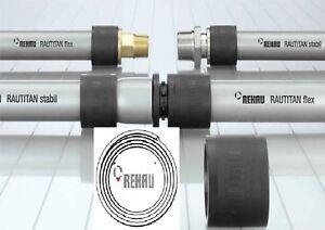 Rehau-Rautitan-Verbund-Rohr-16-20-und-25-stabil-flex-auch-auf-Wunschlaenge