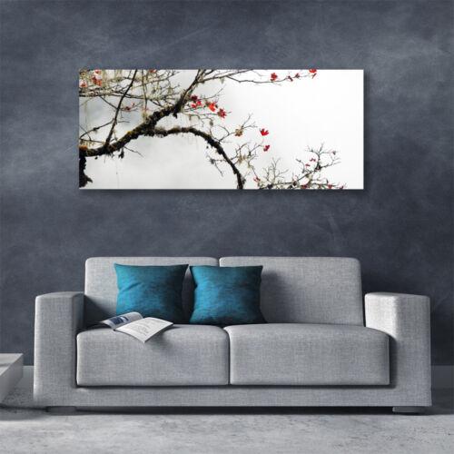 Leinwand-Bilder Wandbild Canvas Kunstdruck 125x50 Zweig Natur