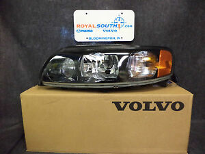Image Is Loading Genuine Volvo S60 V70 Xc70 Xenon Left Headlight