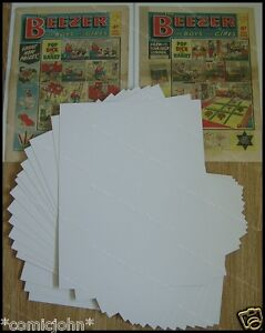 """SIZE P. BACKING BOARDS : 17 1/2"""" X 14"""". NEWSPAPER x 100"""