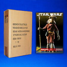 """STAR WARS MINT 12"""" MOMAW NADON SIDESHOW EXCLUSIVE FIGURE DOUBLE FACTORY SEALED"""