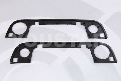 Us Seller Front Door Handle Gasket Rubber Seals X2 For Bmw