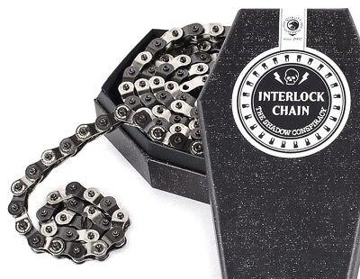 "SHADOW CONSPIRACY INTERLOCK V2 HALF LINK BMX CHAIN 1//8/"" FIT SE CULT COPPER BLACK"