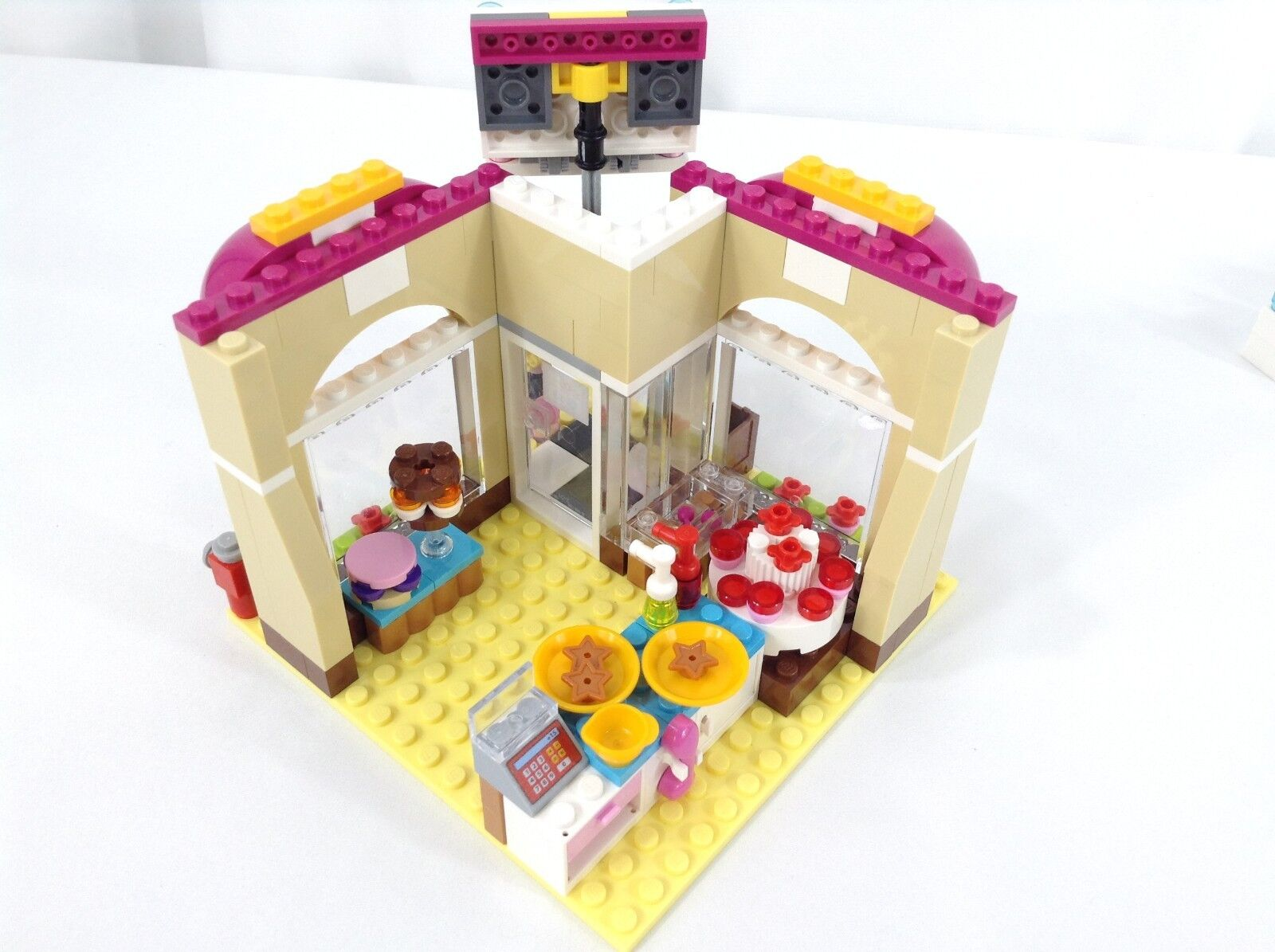 Lego Friends 41006 Bakery, 30106 Stand, 3930 Bakery Bakery Bakery Lot 98% Complete 41793e