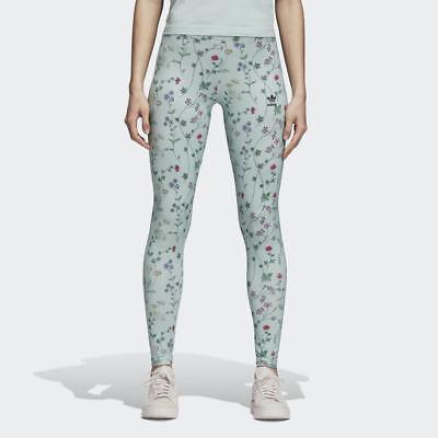 2019 Mode Dn9093 Women's Adidas Originals Colour Floral Tight Genuine Leggings Uk 6-12-14 Hohe QualitäT Und Preiswert