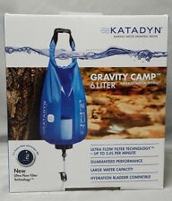 NEW Katadyn Gravity Camp 6L Bladder with Ultra Flow Filter Water Storage 8019160