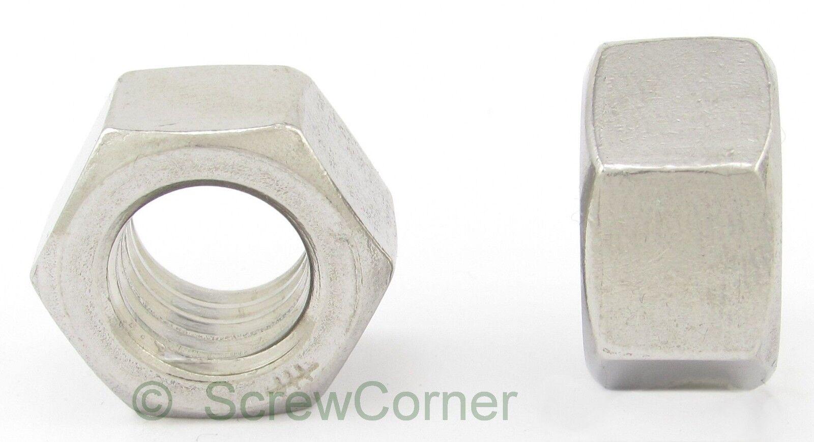 Sechskantmutter 9 16-12 UNC A2 Edelstahl - Hex Nut 9 16-12 UNC Stainless Steel