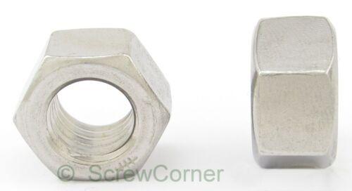 Hex Nut 3//8-24 UNF Stainless Steel Sechskantmutter 3//8-24 UNF A2 Edelstahl