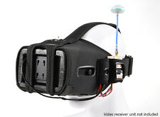 QUANUM FPV GOGGLES 5 INCH LCD MONITOR V2 LATEST + ADD ON KIT UPGRADE TO V2PRO US