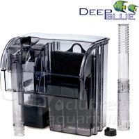 Biomaxx 10 Hang-on Aquarium Filter For Desktop/betta/small Fish Tanks 10 Gallon
