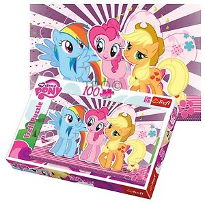 7ecfe7851f Trefl 100 Teile Kinder Mädchen My little Pony Rainbow Dash Freunde ...