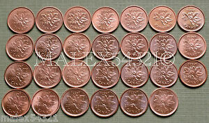 1997-TO-2012-PENNY-SET-RED-AU-UNC-28-COINS-gt-gt-FREE-HIPPING-IN-CANADA-lt-lt