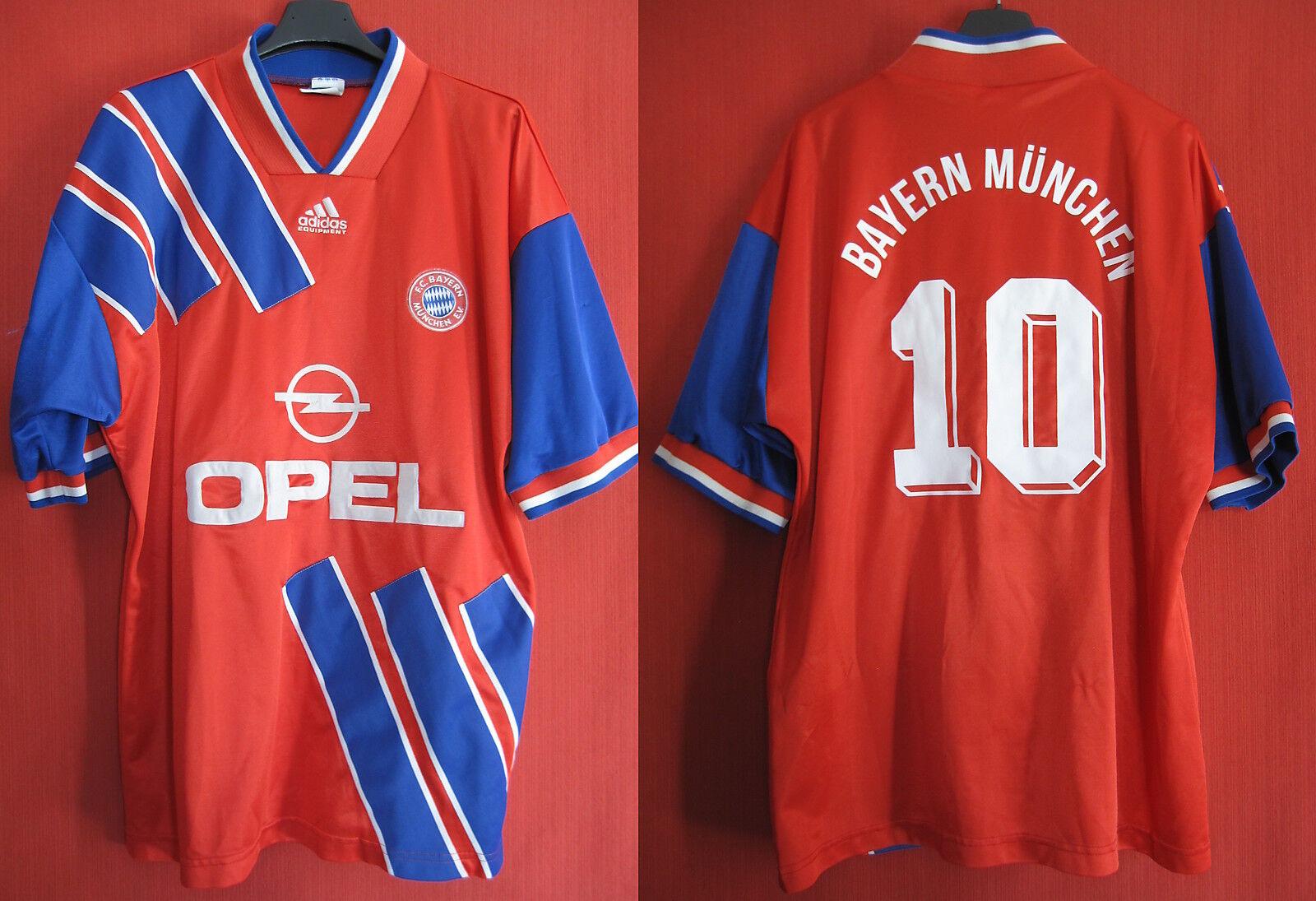 Maillot Adidas Fc Bayern n°10 Munchen Opel Matthaus n°10 Bayern Ancien - L 7ea193