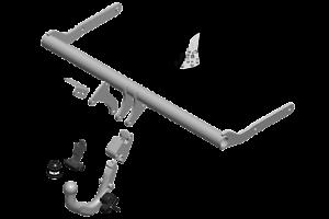 Detachable Tow Bar Brink Towbar for Skoda Fabia Hatchback 2014-2018