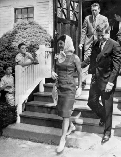 8x10 Print Jackie Kennedy Onassis Street Candid NYC #JAO12
