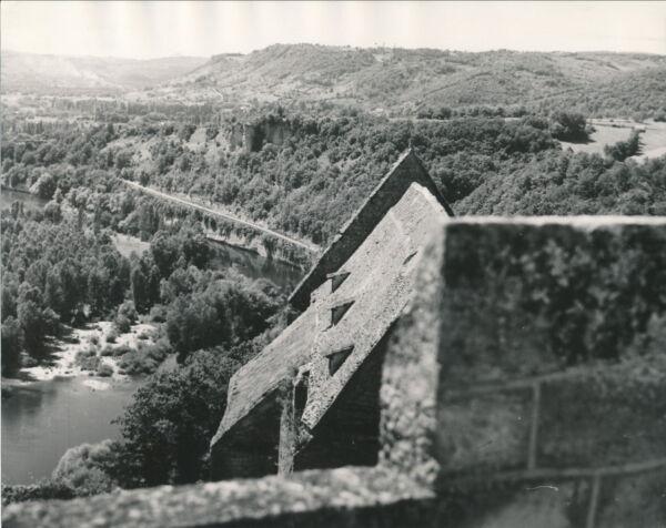 Beynac-et-casenac C. 1935 - Vue Sur La Vallée Dordogne Div 4539 Artisanat D'Art